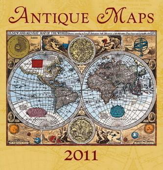 Antique Maps 2011 - nástěnný kalendář