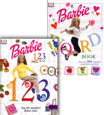 Balíček 2ks Barbie Word + Barbie 1,2,3