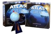 Atlas sveta + otáčací glóbus