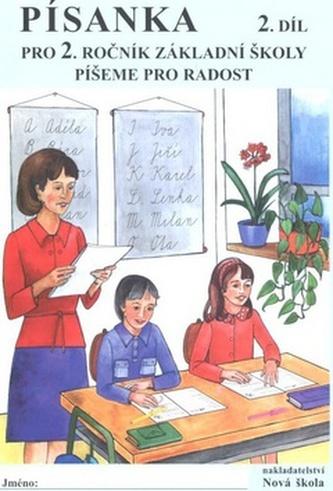 Písanka pro 2. ročník základní školy 2. díl