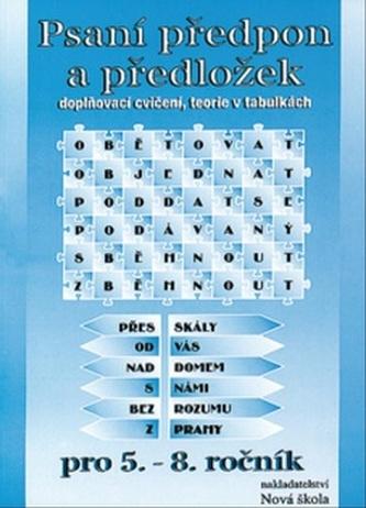 Psaní předpon a předložek pro 5. - 8. ročník