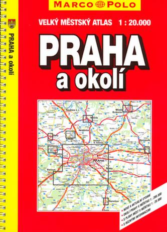 Praha a okolí 1:20000