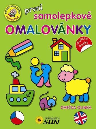 První samolepkové omalovánky Ovečka Olinka