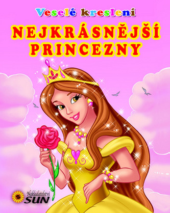 Veselé kreslení Nejkrásnější princezny - omalovánka