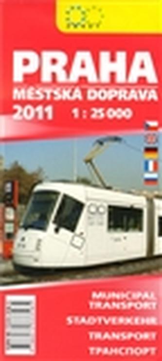 Praha městská doprava 2011