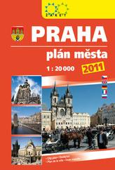 Praha plán města 2011