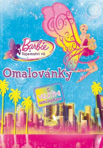 Barbie Tajemství víl Omalovánky