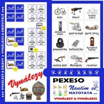 Pexeso Natotata Vynálezy a objevy - Blanka Říchová