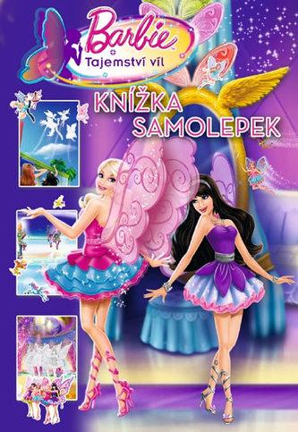 Barbie Tajemství víl Knížka samolepek