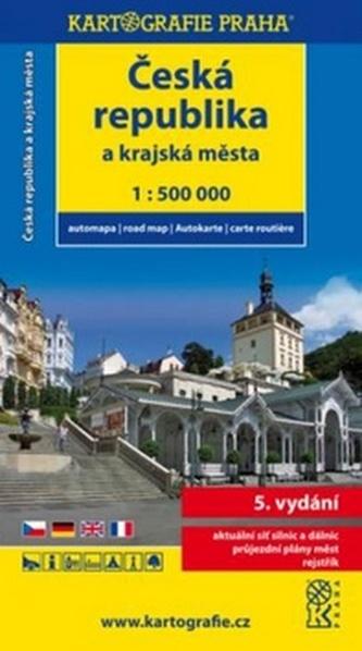 Česká republika a krajská města