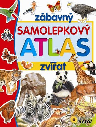 Zábavný samolepkový atlas zvířat
