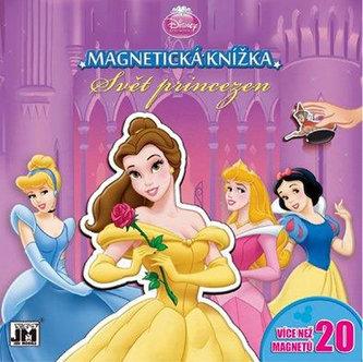 Magnetická knížka Svět princezen