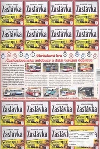 Pexeso Československé autobusy 1