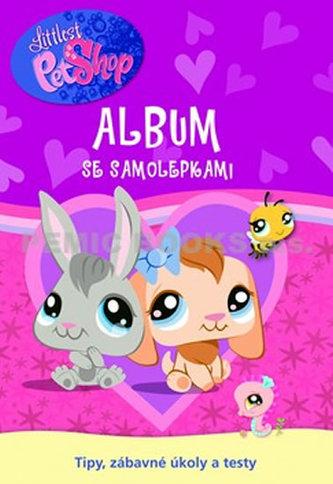 Littlest Pet Shop Nové Album se samolepkami