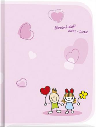Love kids Školní diář 2011-2012