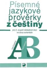 Písemné jazykové prověrky z češtiny ve dvou variantách
