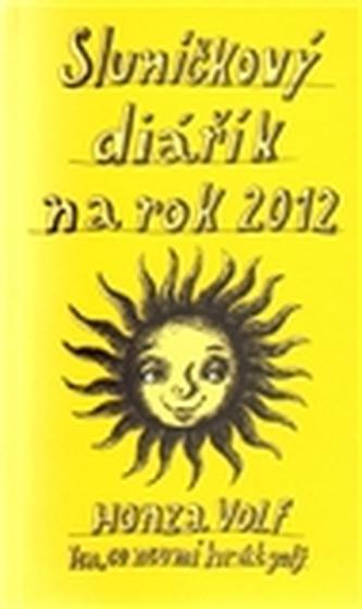 Sluníčkový diářík na rok 2012