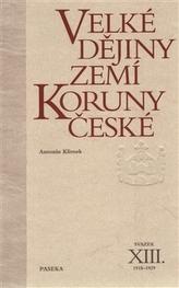 Velké děj.zemí Koruny čes.XIII