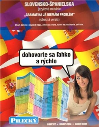 Jazyková mapa: slovensko-španělská - obecná