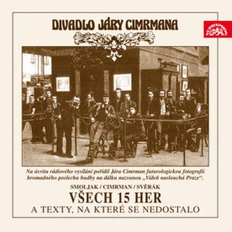 CD-Všech 15 her a texty, na které se nedostalo - Ladislav Smoljak