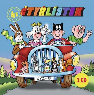 CD-Čtyřlístek 4x