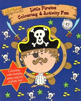 Jolly Maties - Little Pirates Colouring