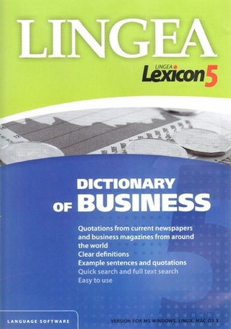 CDROM - Dictionary of Business