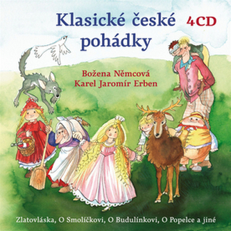 CD-Klasické české pohádky - Karel Jaromír Erben