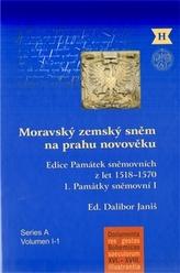 Moravský zemský sněm na prahu novověku