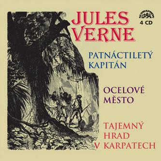 CD Patnácitletý kapitán,Ocelové město,Tajemný hrad - Verne Jules