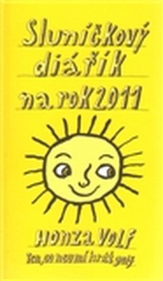 Sluníčkový diářík na rok 2011