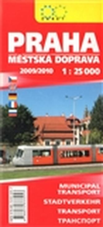 Praha - městská doprava 1:25 000